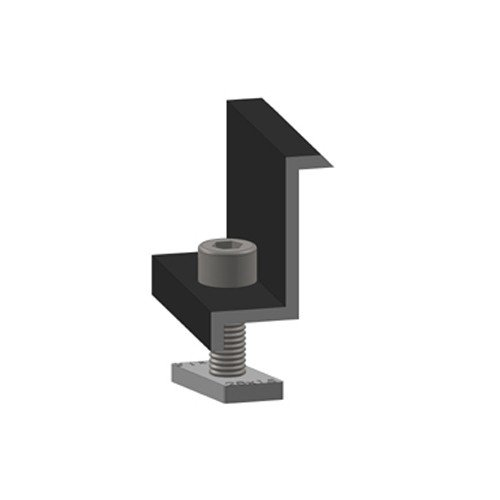 Morsetto terminale Alumero nero 35, preassemblato