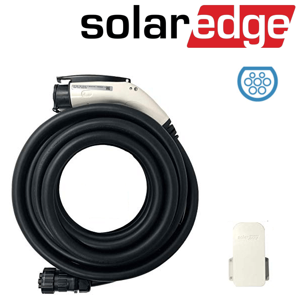 SolarEdge EV set cavo caricatore tipo II 7,6 m