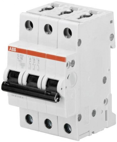 Interruttore ABB LS C32A, 3-polo, 6kA