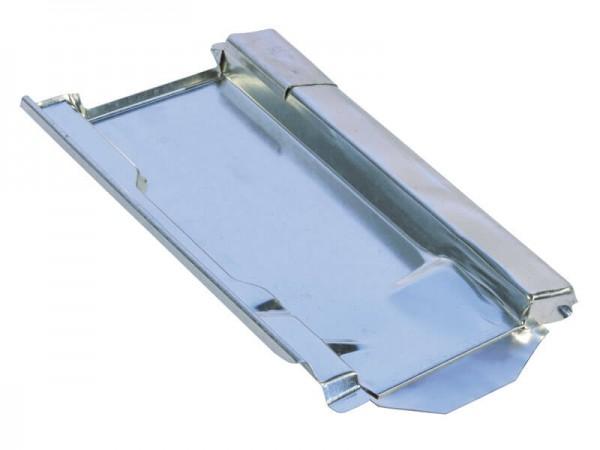 Marzari piastra per tetto in metallo, tipo Ton 260, zincata