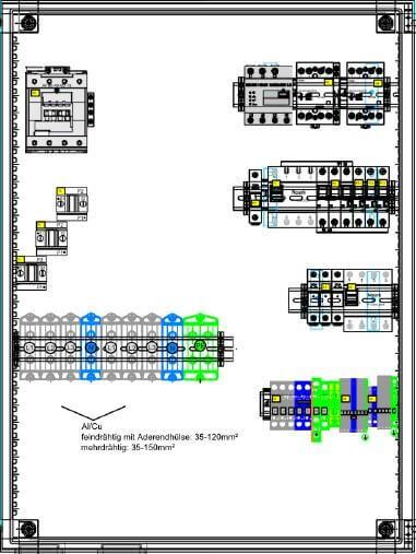 Enwitec dispositivo di commutazione 3 x SMA Sunny Island 72,5 kW