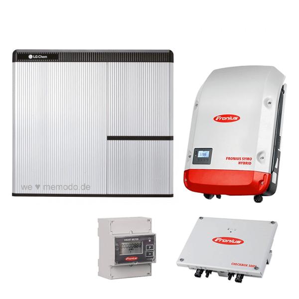 LG Chem RESU 7H & Fronius Symo Hybrid 4.0-3-S & Fronius Checkbox