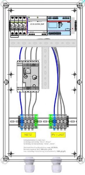 Protezione Enwitec NA in ingresso 110,4 kVA 160A