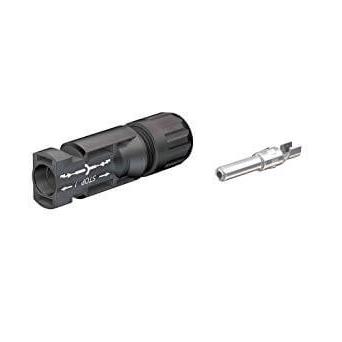 Connettore maschio MC4, tipo interno 4, 4-6 mm²