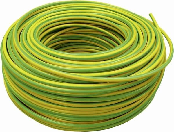 Cavo H07V-R 16 mm², verde-giallo, fascio 100 m