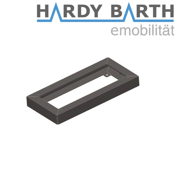 Hardy Barth base in acciaio INOX 40 mm per cPP1