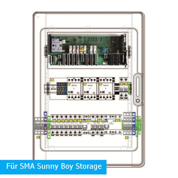 Enwitec Dispositivo di commutazione 1x SMA Sunny Boy Storage Pmax 20kW