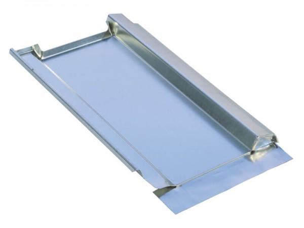 Marzari piastra per tetto in metallo, tipo Grande 300, zincata