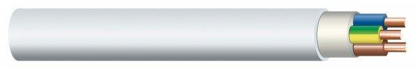 Cavo rivestito NYM-J 5x1,5 mm², fascio 100 m