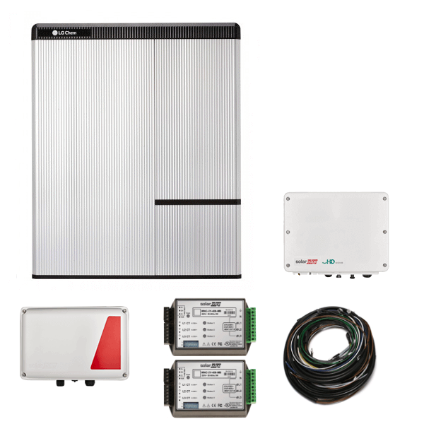 Kit LG Chem RESU 10H & SE StorEdge HD & SE5000H AC N4 - per inverter di terze parti