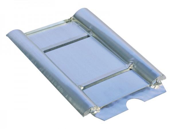 Marzari piastra per tetto in metallo, tipo calcestruzzo grande, zincata