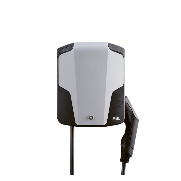 ABL eMH1 Basic 1W1101 11 kW con cavo tipo 2 incl. Interruttore di protezione da correnti di guasto