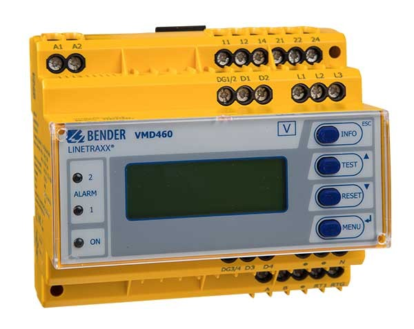 Bender monitor protezione NA VMD460-NA