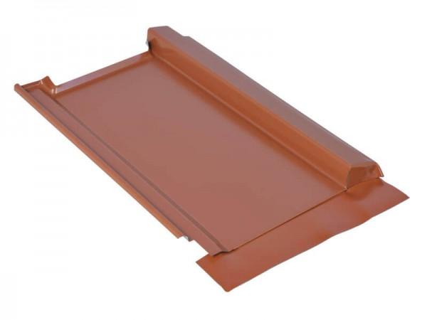 Marzari piastra per tetto in metallo, tipo Grande 290, zincata