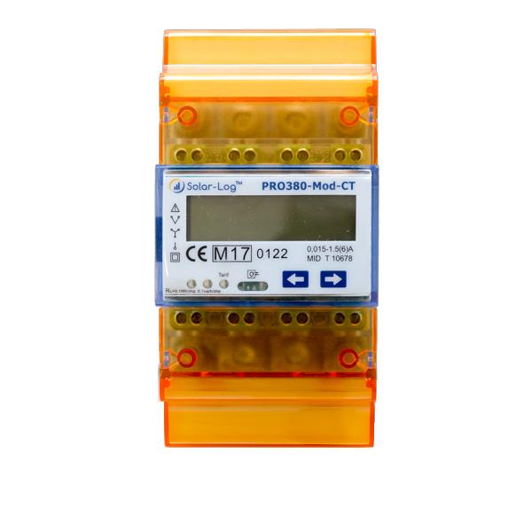 Solar-Log Pro 380 CT per la misurazione con trasformatore amperometrico