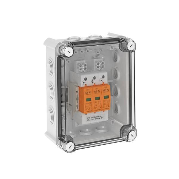 Scatola di sovratensione OBO DC Tipo I+II, 1 MPP, terminali