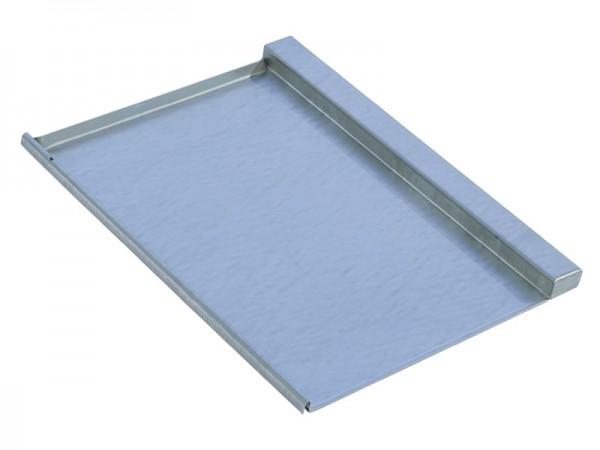 Marzari piastra per tetto in metallo, tipo TGL 330, zincata