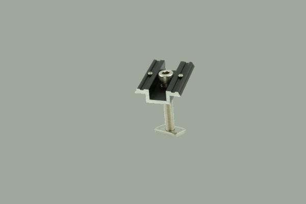 Alumero morsetto centrale 28-37 premontato nero con pin